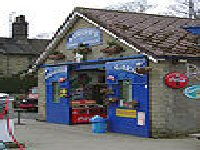 the Garage from the TV series Heartbeat in the Village of Goathland