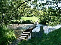 Lealholm - stepping stones across the River Esk